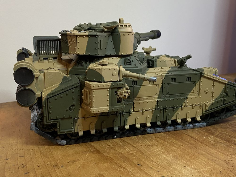 Camo done - How I Paint